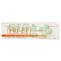 Antiseptický krém PRI-ET 5g