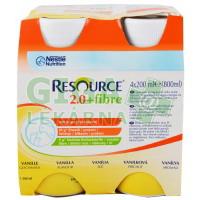 Resource 2.0kcal Fibre Vanilkový 4x200ml