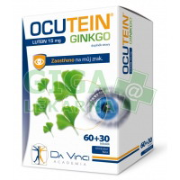 Ocutein Ginkgo Lutein 15mg 60+30 tobolek DaVinci