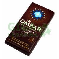 Allexx Čok.hoř. s probiotiky + kokos 35g Ombar