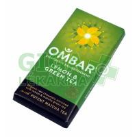 Allexx Čok.hořká zelený čaj a citron 35g Ombar