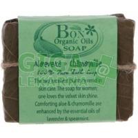 Léčivé mýdlo Aloe Vera a Heřmánek 100g