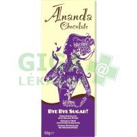 Bye Bye Sugar! Hořká bez cukru s banánovým pyré 50g -BIO