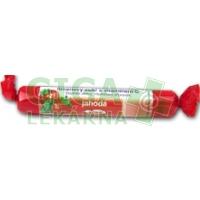 Intact hroznový cukr s vit.C jahoda 40g