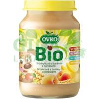 Dětská výživa s banány a cereáliemi OVKO 190g - BIO