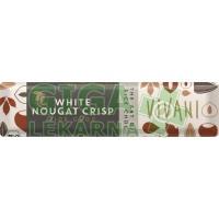 Nugátová tyčinka bílá s rýžovým mlékem VIVANI - 35g - BIO