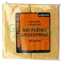 Plátky křupavé s amarantem 100g - BIO