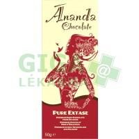 Pure Extase - hořká čokoláda 80% 50g-BIO