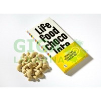 Lifefood Lifefood Chocolate BIO s kousky kešu ořechy 70g