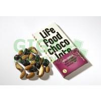 Lifefood Lifefood Chocolate BIO s kousky ořechů a třešní 70g