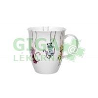 Oxalis Hravé kočky - porcelánový hrnek