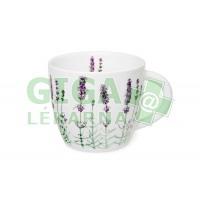 Oxalis Levandule 0,75l - porcelánový hrnek