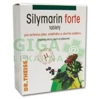 Silymarin Forte pro ochranu jater a cév 40 tablet 100mg