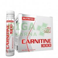 NUTREND CARNITINE 1000 20x25ml pomeranč