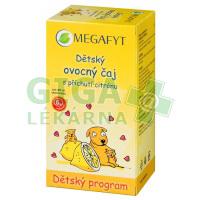 Megafyt Dětský ovocný čaj s příchutí citrónu 20x2g