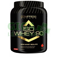 NUTREND COMPRESS ISO WHEY 90 1000g jahoda