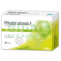 Přírodní vitamín E 30 tablet Favea