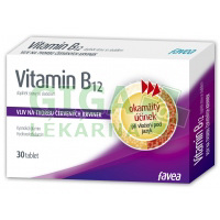 Vitamín B12 30 tablet Favea