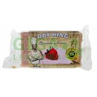 Oat King energy tyčinka - jahodová poleva 95g