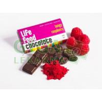 Lifefood Lifefood MINI čokoládka s malinou BIO 15g