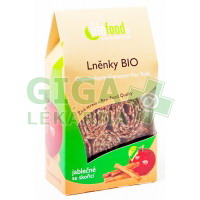 Lifefood Lněnky BIO jablečné se skořicí 80g