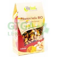 Lifefood Pikantní kešu indické BIO 80g