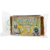 Oat King energy tyčinka - banánová poleva 95g