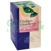 Sonnentor Ginkgo koncentrace bio porcovaný dárkový 20g