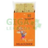 Sonnentor Mlsounek - bílá mlečná čokoláda s kousky kuliček