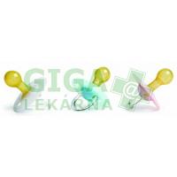 Dudlík Anti-rub kulatá savička latex 0-6M Suavinex