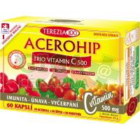ACEROHIP TRIO Vitamin C 500 cps.60 TC