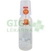NUK Dětská láhev PP Modrá 240ml savička silikon V1-M