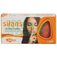 Chránič sluchu SILANS STANDARD Ultra Soft pam.pěna