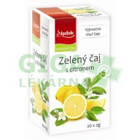 Apotheke Zelený čaj s citrónem 20x2g