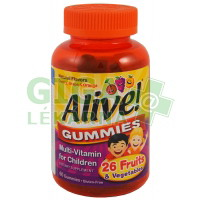 Alive! GUMMIES Multi-Vitamin for Children 60ks