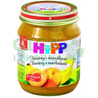 HiPP OVOCE BIO Banány s meruňkami 125g