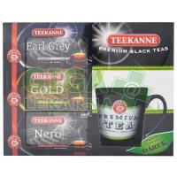 TEEKANNE On-pack černé čaje n.s.3x20 sáčků + hrnek