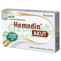 Hemodin AKUT 10 tablet