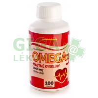 Omega 3 mastné kyseliny 100 tobolek Silvita