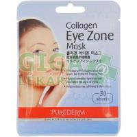 PUREDERM Kolagenová maska oční 30 polštářků