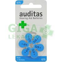 Baterie sluch. VARTA auditas PR44 typ675 modrá 6ks