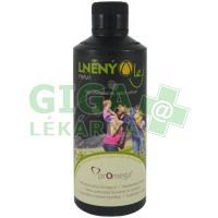 Bio lněný olej pravý 500ml