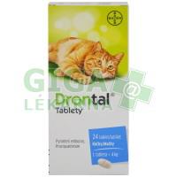 Drontal 24 tablet pro kočky