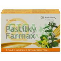Pastilky Farmax - lípa proskurník 12 pastilek