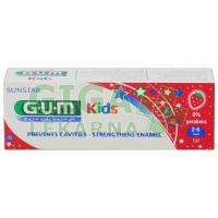 GUM zubní pasta Kids (2-6let) jahoda 50ml