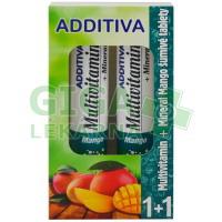 Additiva duopack 1+1 mango 20+20 šumivých tbl.