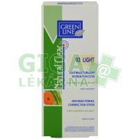 Green Line Natural Clear antibakteriální korekční tyčinka03 5g