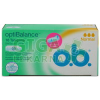 DH tampóny o.b. OptiBalance Normal 16ks