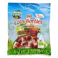 Allexx Bio gumové bonbony EKOVITAL colové flaštičky 100g