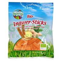 Allexx Bio gumové bonbony EKOVITAL zázvorové paličky 100g